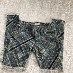 Boho pattern ralph lauren jeans